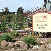 APC garden sign